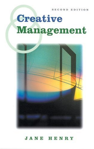 9780761966104: Creative Management (Published in association with The Open University)