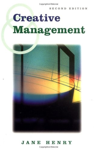 9780761966111: Creative Management (Published in association with The Open University)