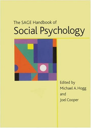 9780761966364: The Sage Handbook of Social Psychology