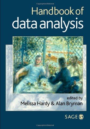 9780761966524: Handbook of Data Analysis