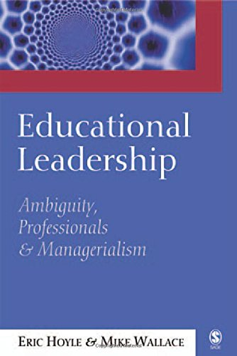 9780761967422: Educational Leadership: Ambiguity, Professionals and Managerialism