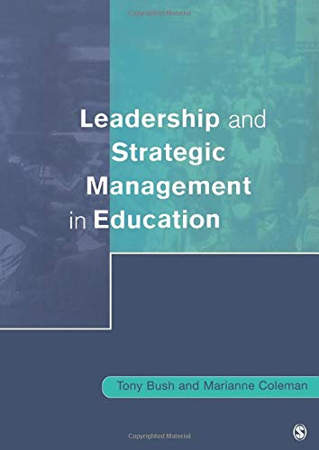 9780761968733: Leadership and Strategic Management in Education (Centre for Educational Leadership and Management)