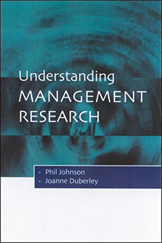 9780761969174: Understanding Management Research: An Introduction to Epistemology