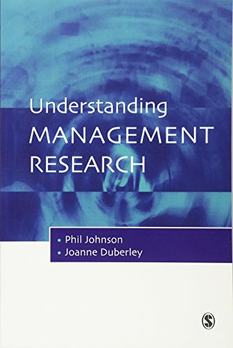 9780761969181: Understanding Management Research: An Introduction to Epistemology