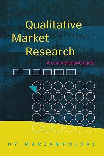 9780761969457: Qualitative Market Research