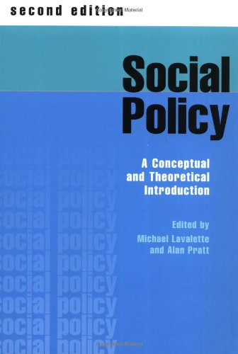 9780761969532: Social Policy: A Conceptual and Theoretical Introduction
