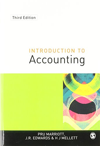 9780761970385: Introduction to Accounting (Accounting and Finance series)