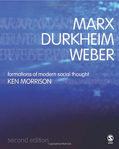 Marx, Durkheim, Weber: Formations of Modern Social Thought: Kenneth Morrison