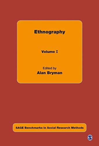 9780761970910: Ethnography