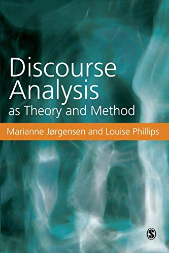 9780761971122: Discourse Analysis as Theory and Method
