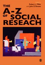 9780761971320: The A-Z of Social Research: A Dictionary of Key Social Science Research Concepts