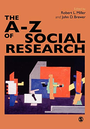 9780761971337: The A-Z of Social Research: A Dictionary of Key Social Science Research Concepts