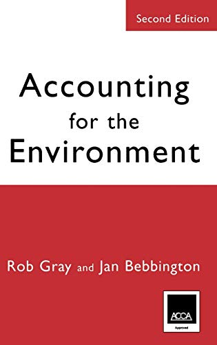 9780761971368: Accounting for the Environment