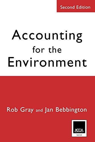 9780761971375: Accounting for the Environment