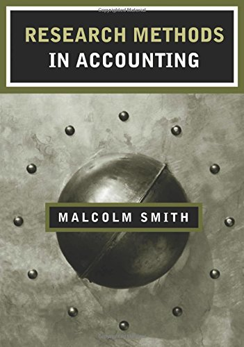 9780761971467: Research Methods in Accounting