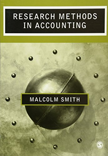 9780761971474: Research Methods in Accounting