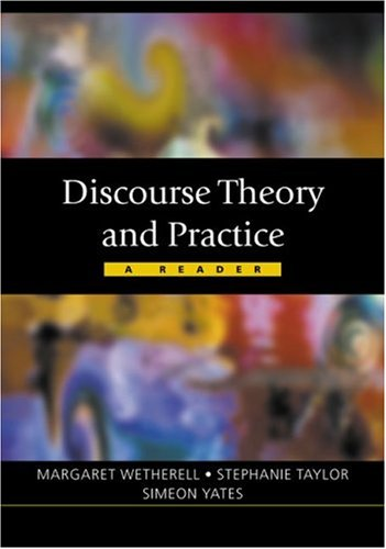 9780761971559: Discourse Theory and Practice: A Reader (Published in association with The Open University)