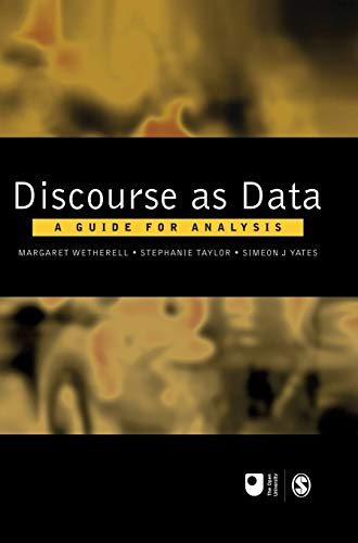 9780761971573: Discourse as Data: A Guide for Analysis (Published in association with The Open University)