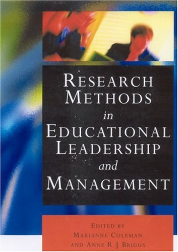 9780761971849: Research Methods in Educational Leadership and Management (Centre for Educational Leadership and Management)