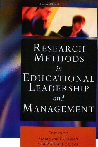 9780761971856: Research Methods in Educational Leadership and Management (Centre for Educational Leadership and Management)