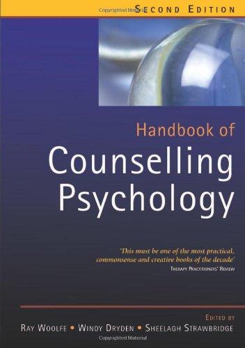 9780761972075: Handbook of Counselling Psychology