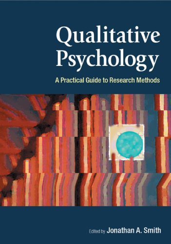 9780761972303: Qualitative Psychology: A Practical Guide to Research Methods