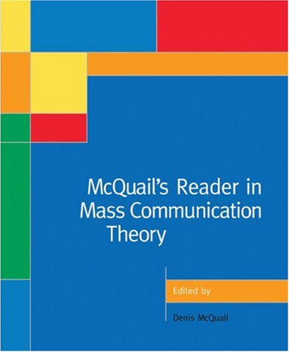 9780761972426: McQuail's Reader in Mass Communication Theory