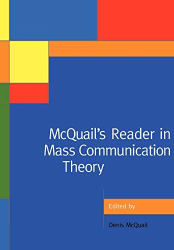 9780761972433: McQuail's Reader in Mass Communication Theory