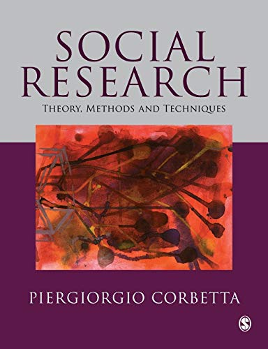 9780761972532: Social Research: Theory, Methods and Techniques