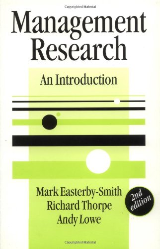 9780761972853: Management Research: An Introduction (SAGE series in Management Research)