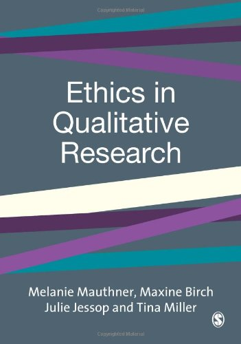 9780761973089: Ethics in Qualitative Research