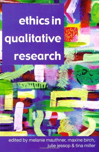9780761973096: Ethics in Qualitative Research