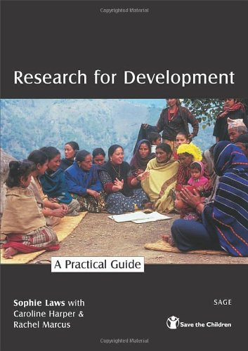 9780761973270: Research for Development: A Practical Guide