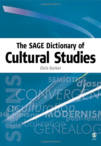 9780761973409: The SAGE Dictionary of Cultural Studies: v. 1