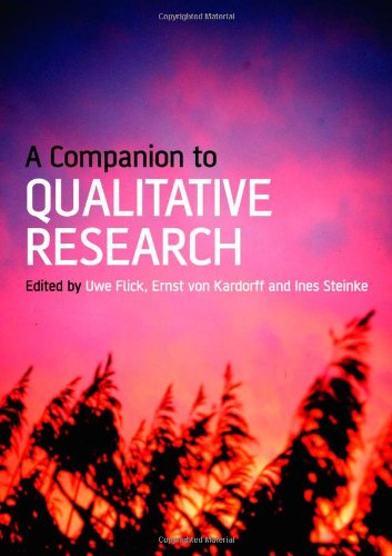9780761973744: A Companion to Qualitative Research