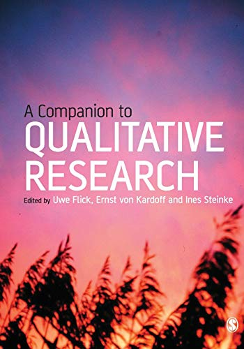 9780761973751: A Companion to Qualitative Research