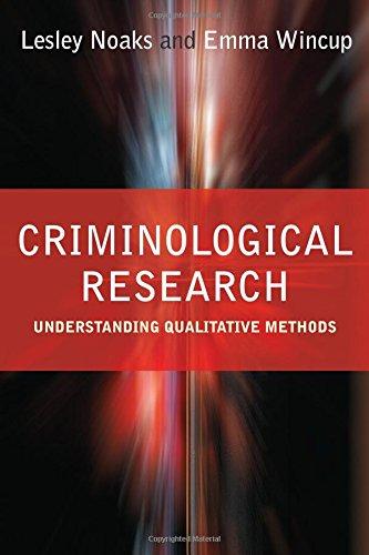 9780761974062: Criminological Research: Understanding Qualitative Methods (Introducing Qualitative Methods series)