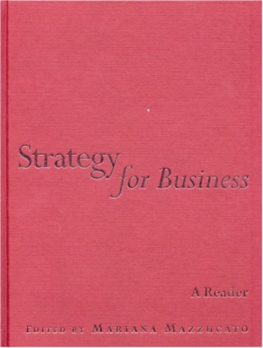 9780761974123: Strategy for Business: A Reader