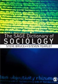 9780761974819: The SAGE Dictionary of Sociology