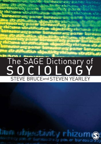 9780761974826: The SAGE Dictionary of Sociology