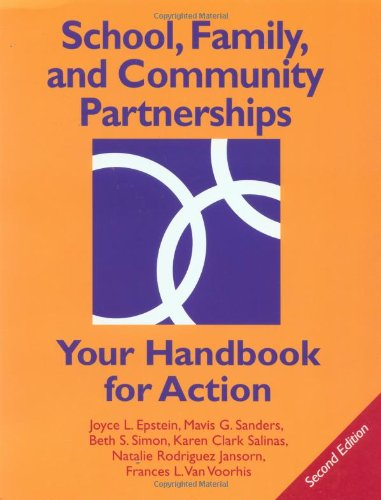 9780761976660: School, Family, and Community Partnerships: Your Handbook for Action