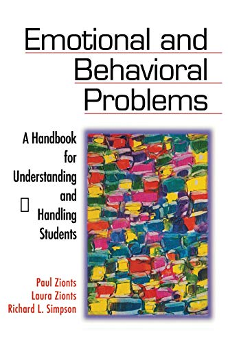 9780761977032: Emotional and Behavioral Problems: A Handbook for Understanding and Handling Students