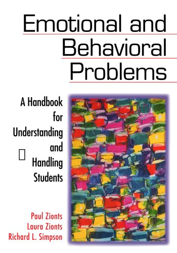 9780761977049: Emotional and Behavioral Problems: A Handbook for Understanding and Handling Students
