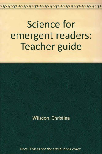 9780761982302: Science for emergent readers: Teacher guide