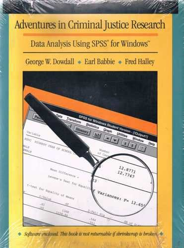 Amazon. Com: ready, set, go! : a student guide to spss for windows.