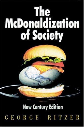 9780761986287: The McDonaldization of Society