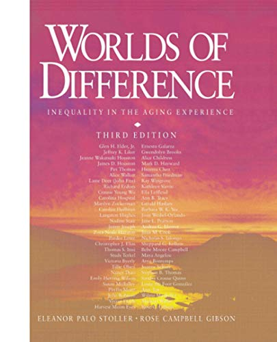 9780761986645: Worlds of Difference: Inequality in the Aging Experience