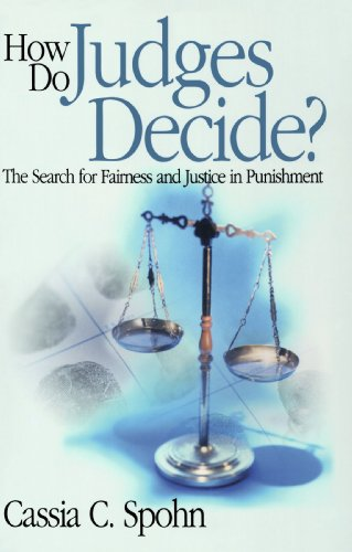 9780761987604: How Do Judges Decide?: The Search for Fairness and Justice in Punishment (Key Questions for Criminal Justice)
