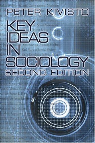 9780761988250: Key Ideas in Sociology