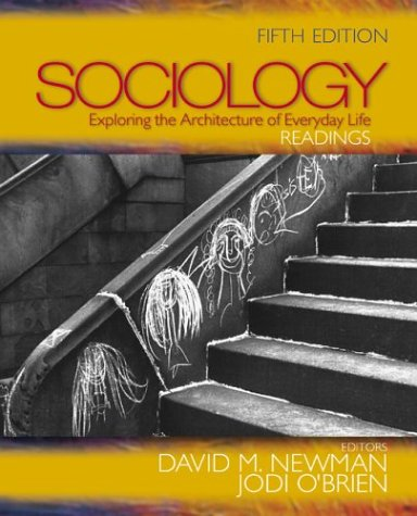 9780761988274: Sociology: Exploring the Architecture of Everyday Life : Readings